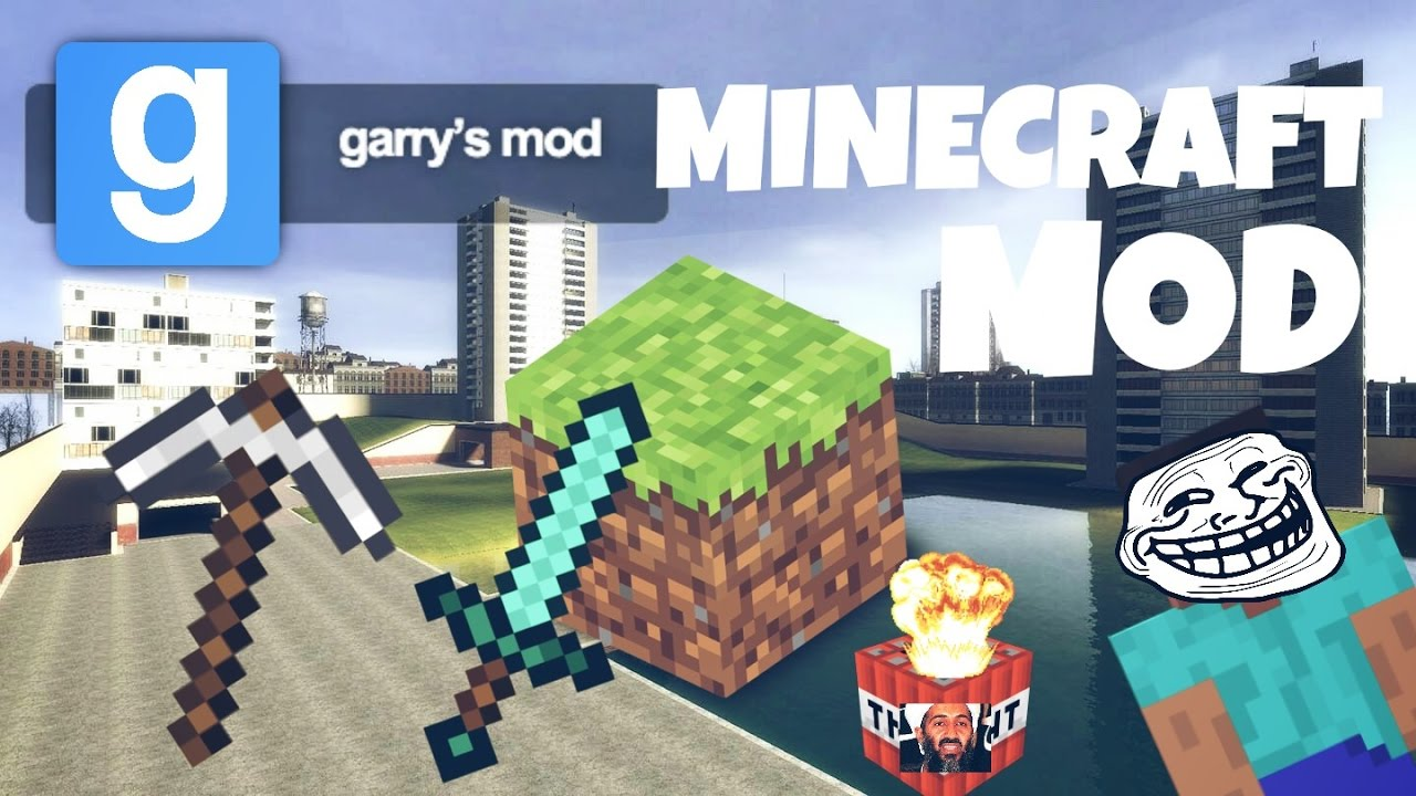 Garry's Mod   MINECRAFT MOD!! - YouTube