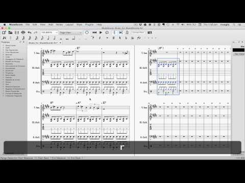 MuseScore in Minutes: Lesson 8: Repeats and Endings, Part 1