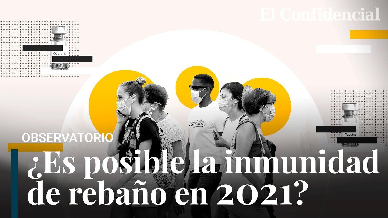 ¿Inmunidad de grupo en 2021? La fórmula que explica cómo es posible con las vacunas