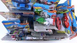 Box full of New Cars Hot Wheels Video for Kids