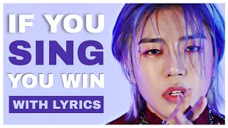 Download IF YOU SING, YOU WIN | WITH LYRICS | BOYS EDITION