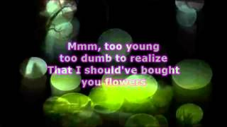 Thomas Rhett  - When I Was Your Man (Lyrics)
