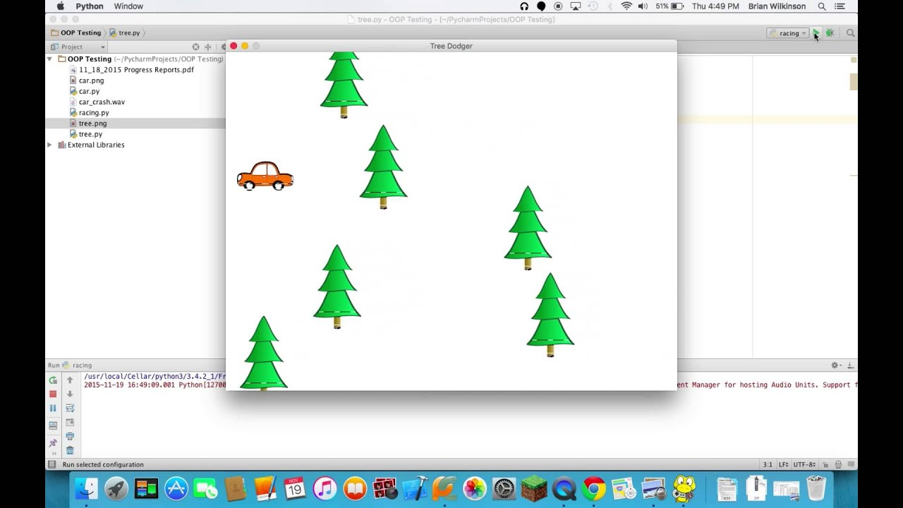 Adding Images and Sounds to Pygame - Part 2