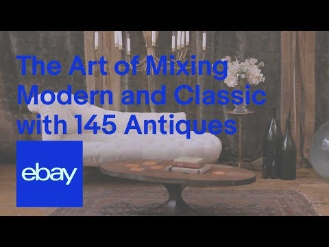 eBay | The Art of Mixing Modern and Classic with 145 Antiques