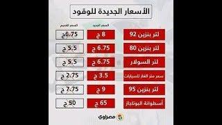 خبر عاجل،رفع الدعم عن الوقود والمواد البترولية فى مصر