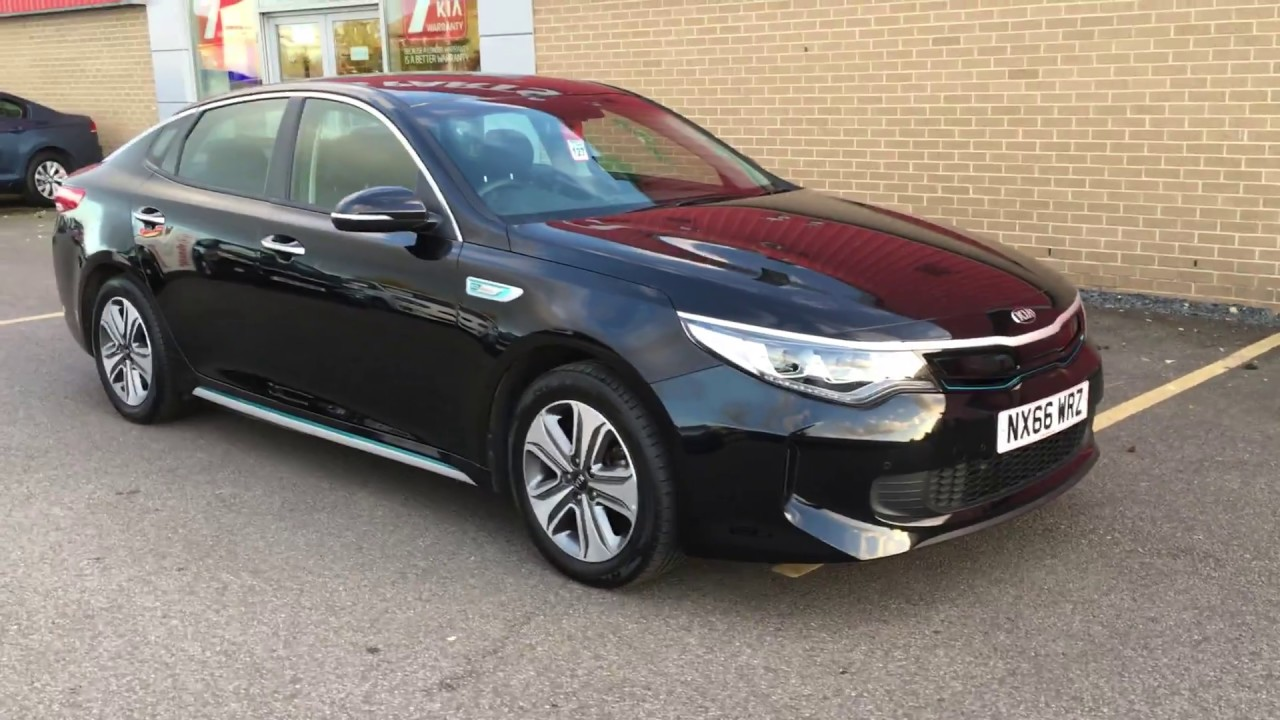 Used Kia Optima Phev 2 0 Gdi 202bhp Automatic Black 2016