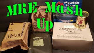 MRE Review Mash Up Of Rations 🔴 Oldsmokey Live Stream