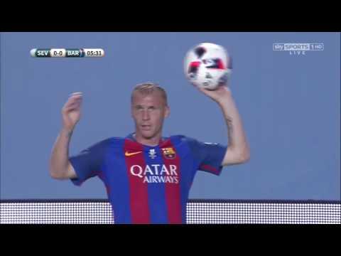 Spanish SuperCup 2016 1st Leg: Sevilla vs Barcelona Full Match
