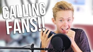 Tanner Fox Calling Fans! │ The Vault Pro Scooters