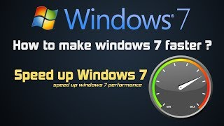 How to make windows 7 faster and improve its performance | 5_ windows 7 tricks in Hindi
