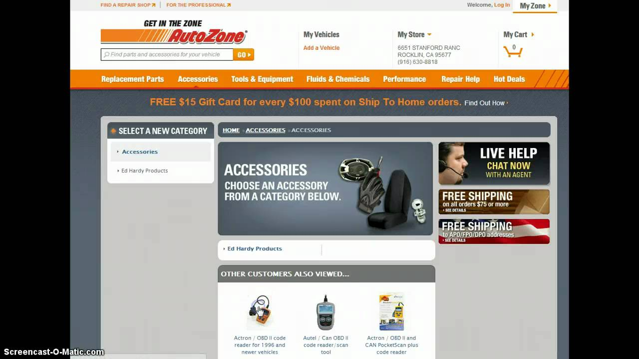 Dec 10, · There is also almost always an Autozone promo code that can be found on this page. What are the best AutoZone coupon codes? The best codes that AutoZone runs a few times per month are usually 20% off online ship-to-home orders of $+. There are also sometimes $5 off $25+ or $10 off $50+ printable coupons.