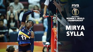 TOP 15 Powerful Volleyball Spikes by Miriam Sylla l Italian Volleyball World Championship 2018