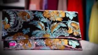 DIY Fashion | Oversized Fabric Clutch Tutorial on POPSUGAR Girls' Guide!