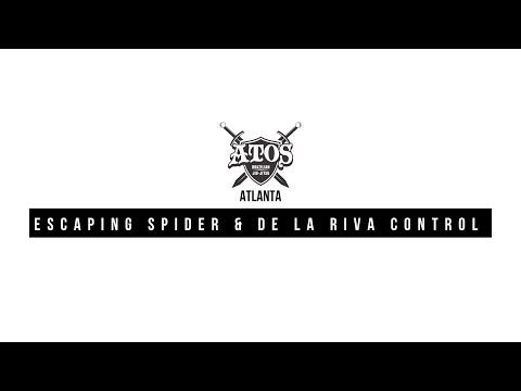Escaping Spider & De la riva Control   Bruno Frazatto