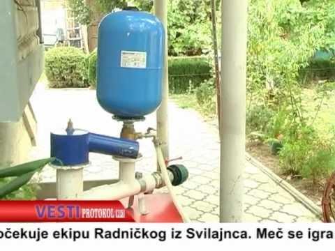 pumpa za vodu bez struje ili goriva - Srebrn Stojanović