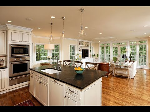 Living Room Kitchen Combo Decorating Ideas 2020 Part 2 Youtube
