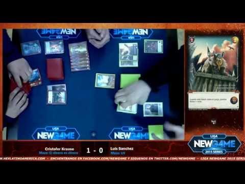 Final quinta  fecha Liga NewGame 2015 Mitos y Leyendas