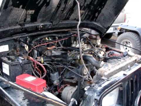 Jeep Wrangler Diesel >> VENTA DE MOTOR 6 CILINDROS CON TRANSMISION ESTANDARD Y