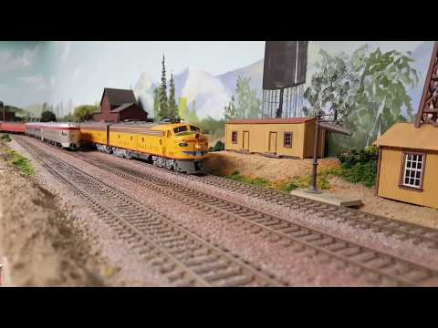 Union Pacific City Trains  - Pacific Coast Lines