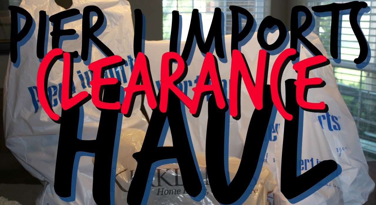 Pier 1 imports haul clearance 90 off items youtube reviewsmspy