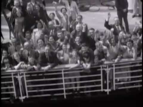 Jewish refugees on the SS St. Louis after denied U.S. entry