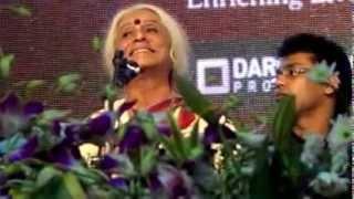 Dr. Prabha Atre Bhairavee unforgettable Finale of the Sawai Gandharv 2012.