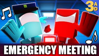 """EMERGENCY MEETING"" Among Us Minecraft Music Video 