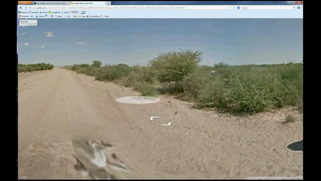 Google Debunks Dead Donkey Maps Image - Search Engine Watch Search on
