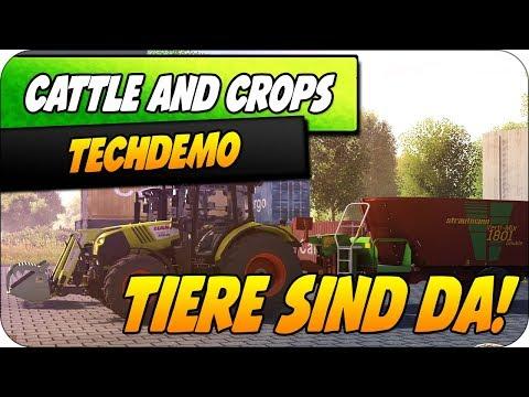 TIERE SIND DA! | Techdemo | Cattle and Crops | Karvon