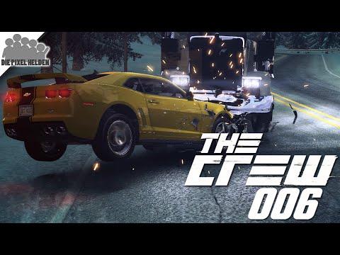 THE CREW #006 - Roadtrip zu den Mountain States - [Facecam / deutsch] Let's Play The Crew
