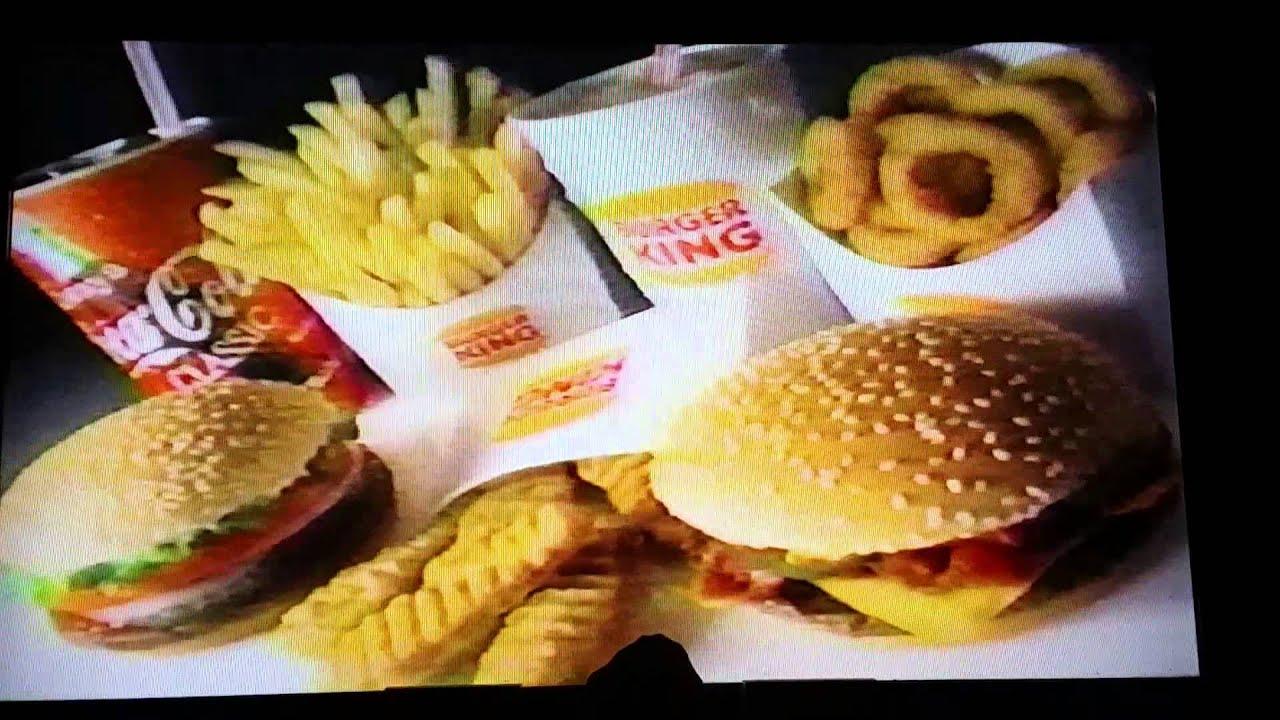 old burger king commercial youtube. Black Bedroom Furniture Sets. Home Design Ideas