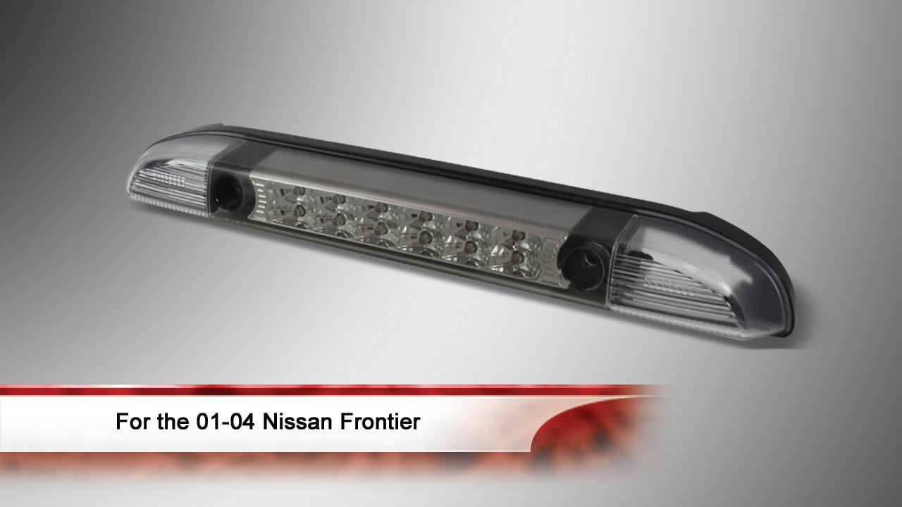 01 04 nissan frontier led 3rd brake light [ 1280 x 720 Pixel ]