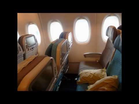 Singapore Airlines Economy Class (Airbus A380-800) Frankfurt -New York JFK video report (Apr 2014)
