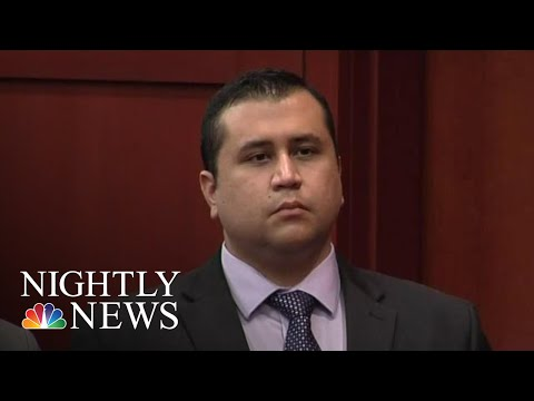 George Zimmerman Sues Trayvon Martin's Family And Others For $100 Million | NBC Nightly News