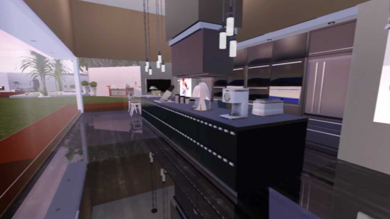 The Sims 3 Modern Luxury House Youtube
