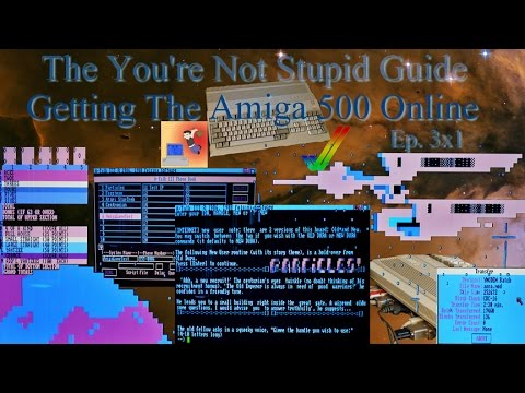 Getting The Amiga 500 Online - The You're Not Stupid Guide
