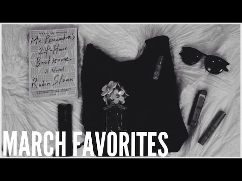 March Favorites // fragrance, beauty, fashion, & reading!