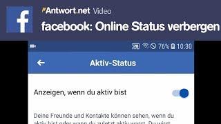 Ausschalten online status WhatsApp Online