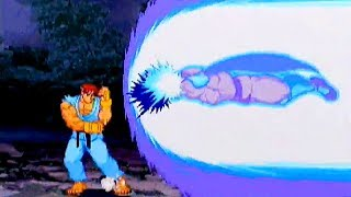 Street Fighter ZERO 3 (1999) Ryu Playthrough / SEGA Saturn (4MB RAM)
