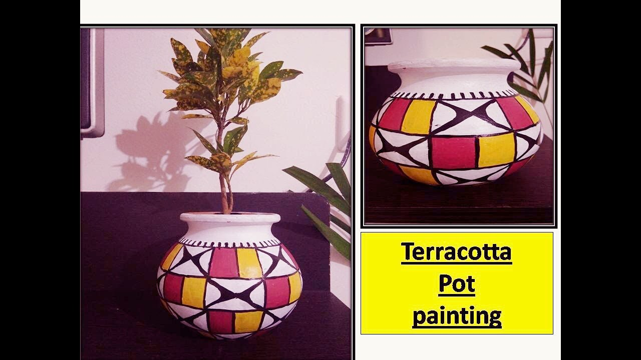 Diy Terracotta Pot Painting Simple And Easy Home Decor Ideas