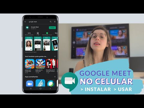 Google Meet no Celular - Como instalar e usar o app do Google Meet Gratuito  (Meet e Chat - Ep 13)