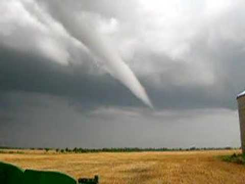 North Dakota Tornado Funnel
