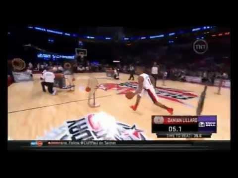 NBA skills challenge 2013