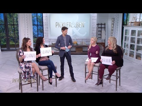 Sister Knows Best with Idina Menzel, Cara Mentzel and Courtney Pickler Howard  Pickler & Ben
