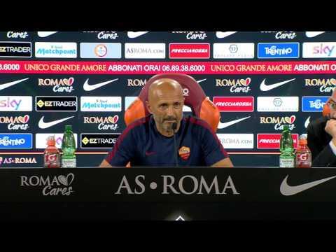 """Conferenza stampa Spalletti: """"Abbiamo Strootman e Paredes che sono più forti di Pjanic"""""""