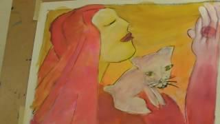 Akvarell nybörjare - Lär dig måla med akvarellfärg d499f6c5ce2d8