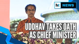 Watch: Uddhav Thackeray takes oath as Maharashtra CM, 6 others as ministers