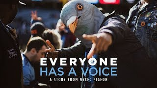 """Everyone has a place, everyone has a voice"" 