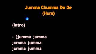 Jumma Chumma De De