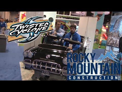 Rocky Mountain Construction (RMC) Talks Steel Vengeance, Twisted Cyclone, And More At IAAPA 2017